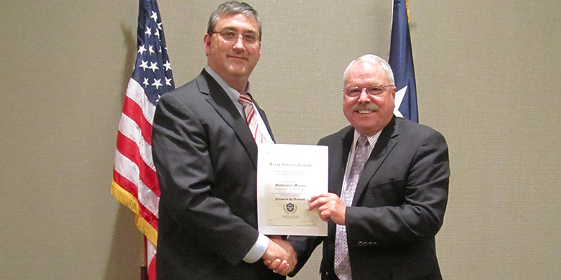 County Judge Honored for Education Efforts