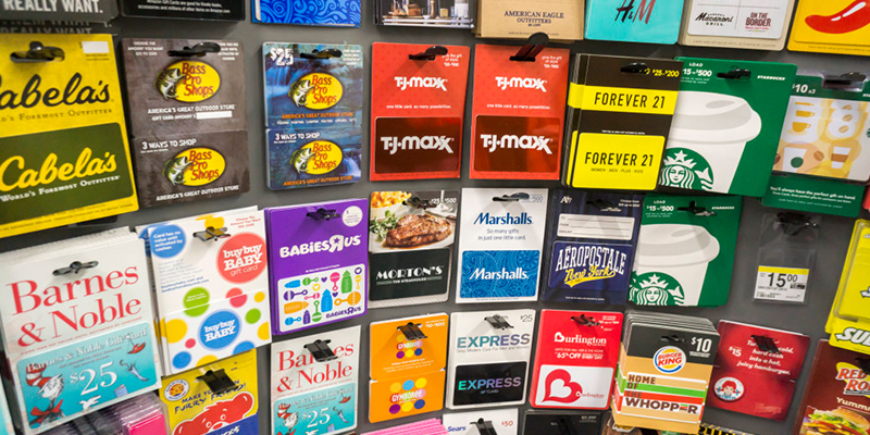 Be Savvy When Purchasing Gift Cards This Holiday Season