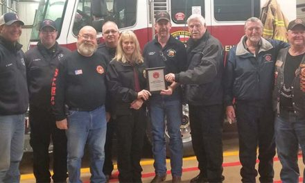 Volunteer Fireman's Association Honored