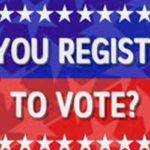 Register to Vote Deadline is Monday