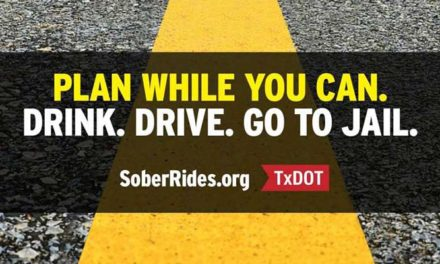 TxDOT URGES DRIVERS TO PLAN FOR A SOBER RIDE DURING SPRING BREAK