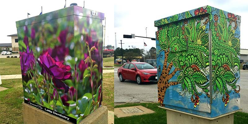 Beauty and the Box program adds two new art installments