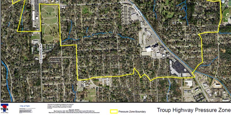 Troup Highway Booster Station begins operation in May