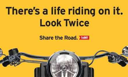 LOOK TWICE FOR MOTORCYCLES'
