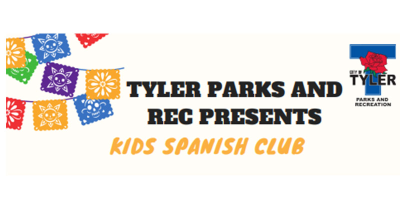 Spanish Clubs for Kids coming to the Glass Rec Center