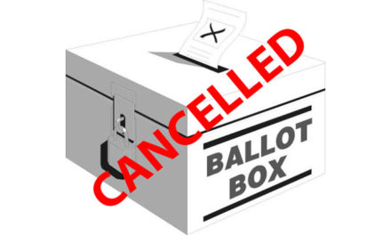 Canceled Election Reminder