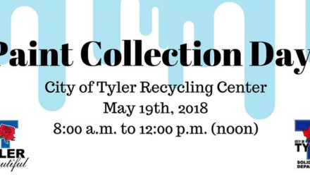 Keep Tyler Beautiful hosts a Paint Collection Day