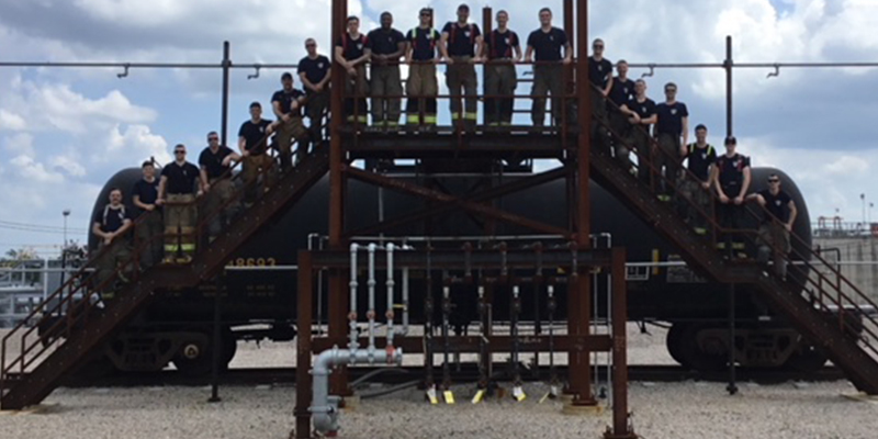 Eastman Hosts Kilgore College Fire Academy