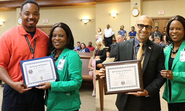 Smith County Employee Recognitions