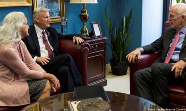 Cornyn Meets With Parents of Austin Tice