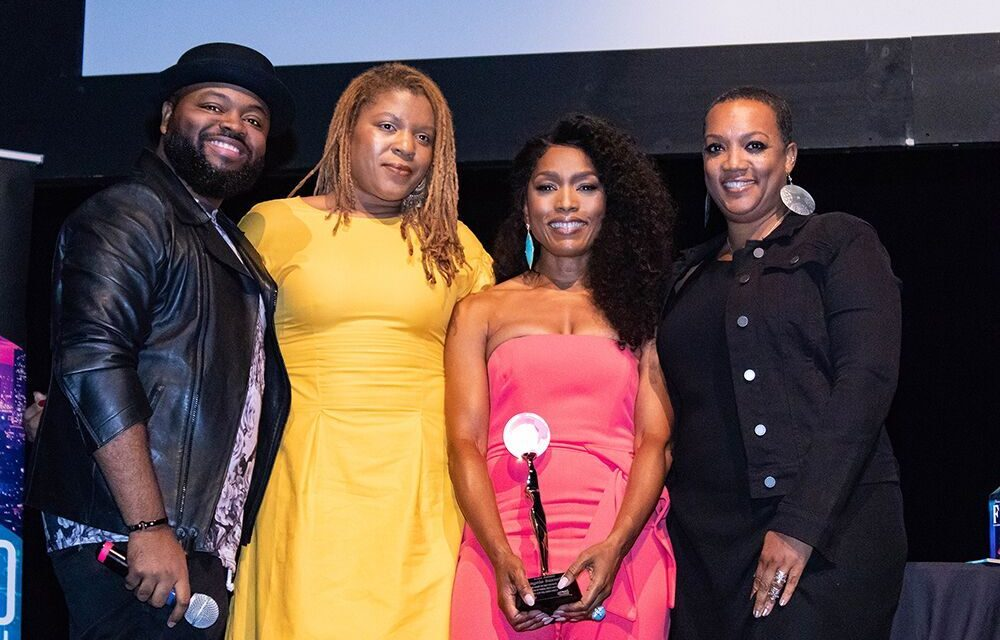 "AWARD-WINNING ACTRESS ANGELA BASSETT RECEIVED THE ""ICON AWARD""AT HOLLYWOOD CONFIDENTIAL"
