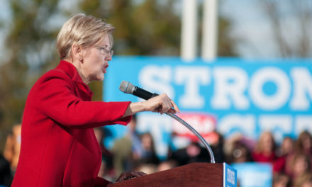 ELIZABETH WARREN WADES INTO SENSITIVE TERRITORY ON IDENTITY