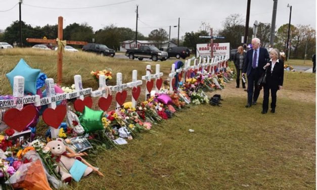 Cornyn Statement on First Anniversary of Sutherland Springs Shooting