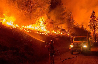 Prisoners Are Getting Paid $1.45 a Day to Fight the California Wildfires