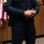 POLICE SERGEANT KENDRIC MONTGOMERY IS MARCH PROTECTOR OF THE COMMUNITY