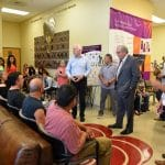 U.S. Senator John Cornyn visits El Paso. offers words of support