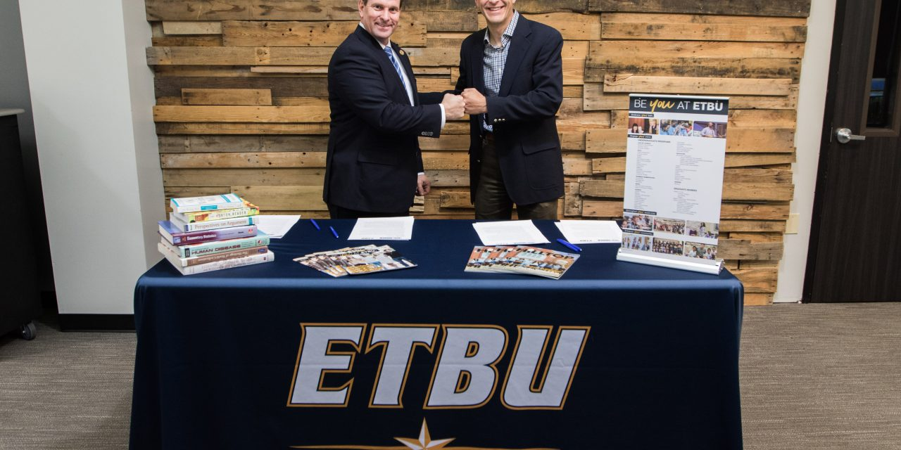 East Texas Baptist University to offer dual enrollment courses at Grace Community School in Tyler, Texas