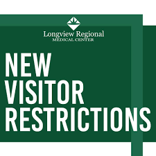 VISITOR RESTRICTIONS: CHRISTUS Good Shepherd Health System and Longview Regional Health System joint hospital statement