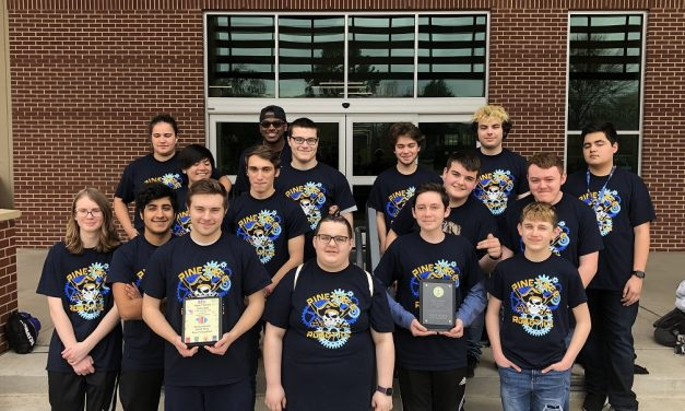 Pine Tree Robotic Team leads the Crew, nabs 1st place