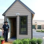 Juvenile Services Vocational Students Build Tiny House