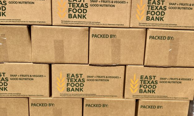 Emergency Food Distribution: East Texas Food Bank  Brings Produce Distribution to Longview